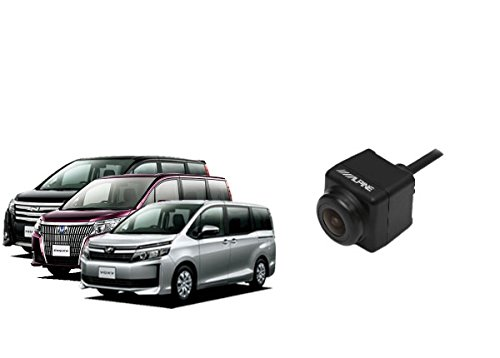 ALPINEアルパインサイドカメラHCE-CS1000+KTX-Y007NVEエスクァイア/ヴォクシー/ノア80系用セット