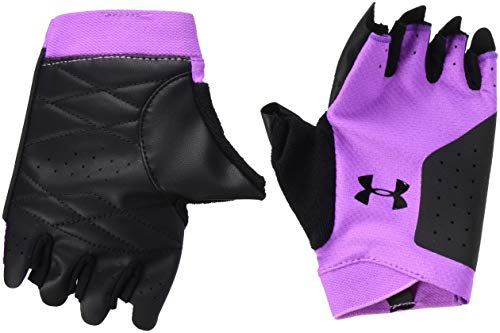 Under Armour Wotraining Guantes, Mujer, Flor Exótica/Negro/Negro (568), Large
