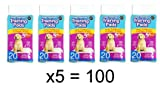 World of pets Pack of 100 Super Absorbent Premium Puppy Dog Training Pads