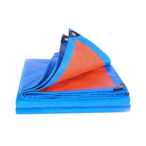 GXYAWPJ wasserdichte Plane, Regenfeste Sonnenschutzplane Für Den Außenbereich, Dicker Dampf-LKW-Öl-Leinwand-Sonnenschutz-Markise, Regenschutzdach Aus Kunststoff, 170 G/M² (Size : 4×6m)