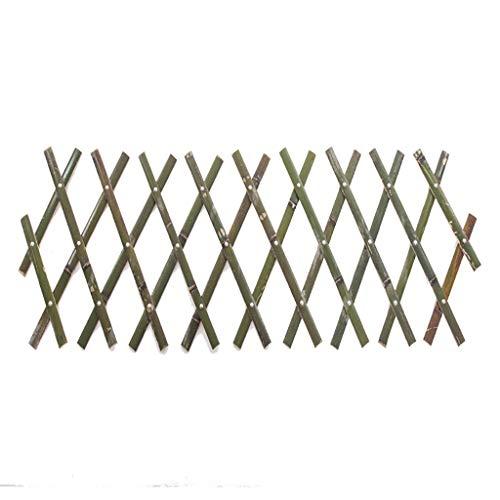 HUAYUAN Outdoor-Anti-Korrosions-natürlicher Bambuszaun Hofterrasse Gartenzaun Trennwand Kann Die Pflanze Kletterhilfs Spalier Erweitern, 5 Größen (Size : 120×180cm/47.2×70.9inch)