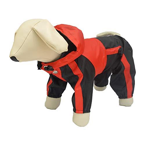 Lovelonglong Dog Hooded Raincoat