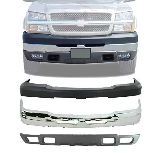 03 chevy silverado front bumper - 6