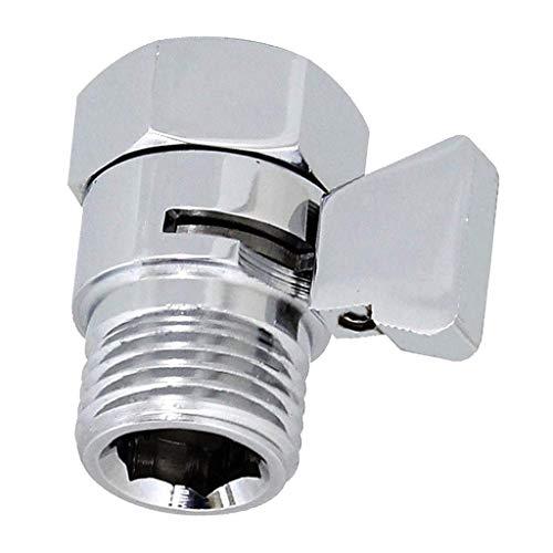 1/2 zoll Duschkopf Absperrventil Eckventil Shut-Off Ventil für Duschbrause Brauseschlauch