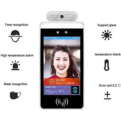 JYOKK IR Biometrische Wärmebildgebung Temperatur Messfeld mit Gesichtserkennungskamerasystem Berührungsloser Detektor für Bürogebäude, Einkaufszentrum, Supermarkt, Bahnhof, Schule