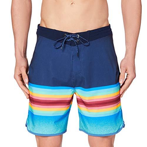 Hurley Mens M Phtm Max Balboa Board Shorts, Obsidian, 36