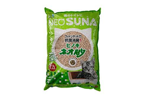 ネオ・ルーライフ 猫砂 ネオ砂ヒノキ 12リットル (x 1)