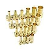 Accesorio de tubería de latón 4Mm 6Mm 8Mm 10Mm 12Mm 19Mm Cola de espiga de manguera 1/8'1/4' 1/2'3/8' BSP Conector macho Junta acoplador de cobre Adaptador 1/4' 4mm Barb