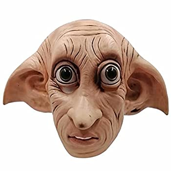 Dobby Mask Deluxe Latex Full Head Mask Cosplay Halloween Cosplay Party Costume Props