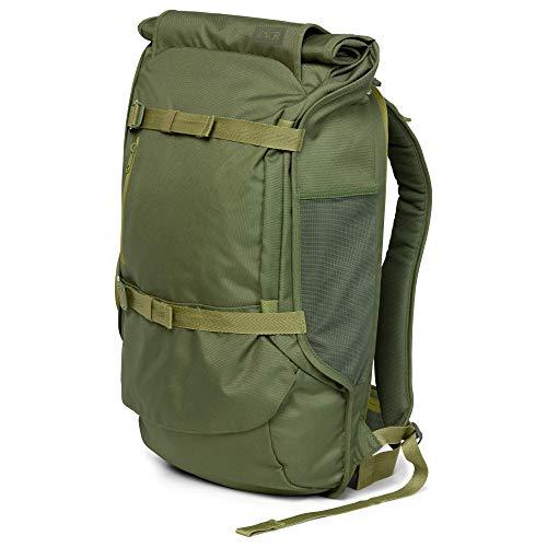 AEVOR Travel Pack - Handgepäck Rucksack, erweiterbar, ergonomisch, Rolltop System - Pine Green