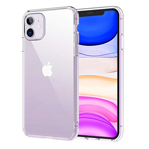 Syncwire iPhone 11 Hülle, UltraRock Schutzhülle mit fortschrittlichen Fall-Schutz & Luftkissen Safeguard Technologie Handyhülle für iPhone XI/11 (6,1 Zoll), Durchsichtig