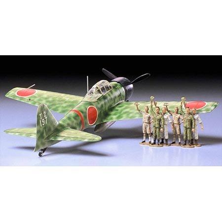 Tamiya - 61025 - Maquette - A6M3 Zero Model 32 - Echelle 1:48