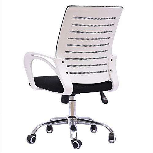 N/Z Living Equipment Bürostuhl Black Lift Bürostuhl Staff Mesh Computer Chair Home Lift Drehsitz Büro Rückenlehne Sessel
