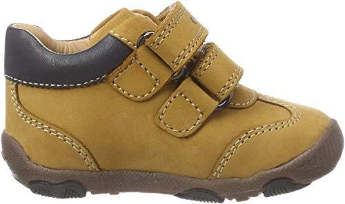 Geox B New Balu' Boy A, Zapatillas para Bebés, (Biscuit/Dk Navy C5b4p), 18 EU