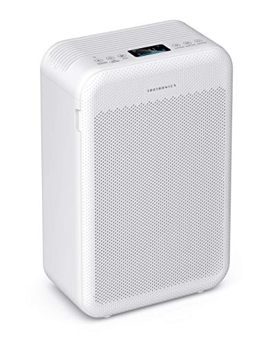 TaoTronics Air Purifier for Home, Large Room Air Cleaner with H13 True HEPA Filter CADR 384m³/h 3...