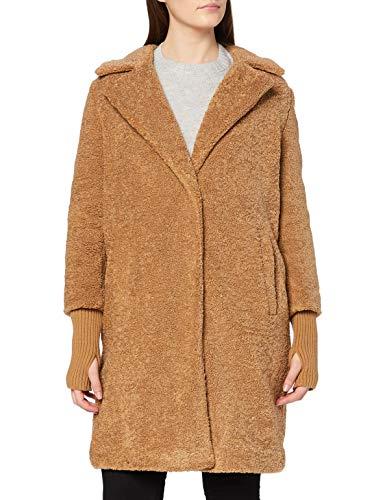 Comma Damen Mantel langarm, Camel (8450), 40