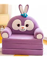 QILE 1PCS Kids Furniture Sofa Chair Seat Dolls Birthday Holiday Gifts with Armrests Cartoon Backrest Suitable for 1-15 Years Old Boys Girls Children Livingroom Kindergarten