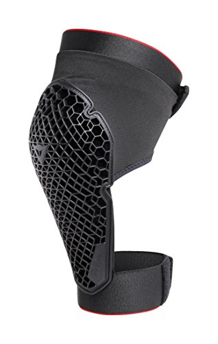 Dainese Unisex's Trail Skins 2 Knee Guard Lite MTB, Black, S