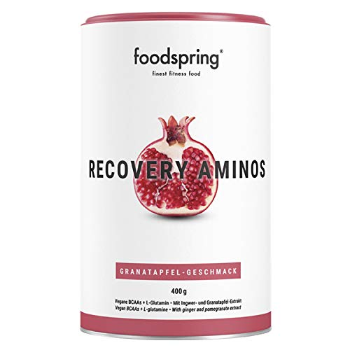 foodspring Recovery Aminos, 400g, Granatapfel, Cleane Post-Workout Recovery ohne künstliche Aromen