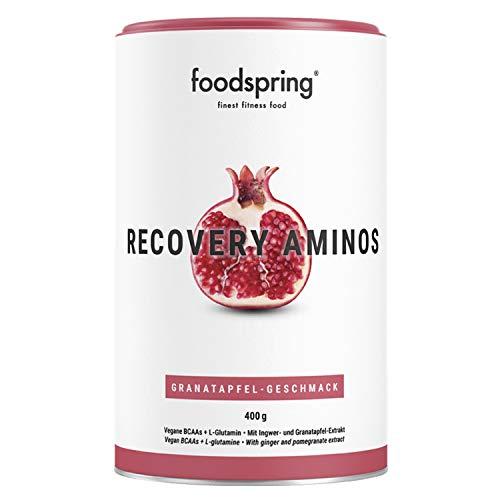 foodspring Post Workout Amino, Melograno, 400g, Il recupero corretto non è mai stato così pulito, Prodotto in Germania