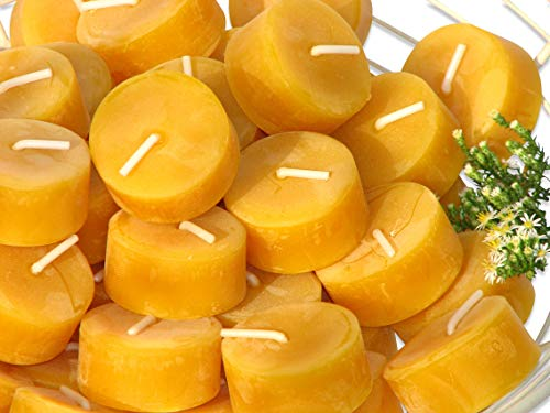 Pure Beeswax Tea Light Candles From Black Forest Candle Maker