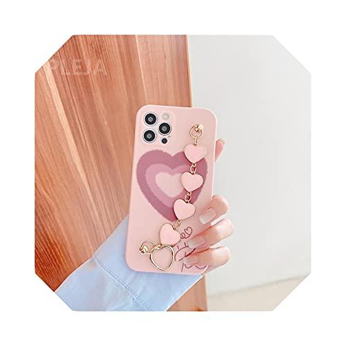 Funda para iPhone 12 Mini 11 Pro Max X XS Max XR SE 2020 7 8 Plus Moda muñeca correas Funda-YY336-1-For-iphoneXR