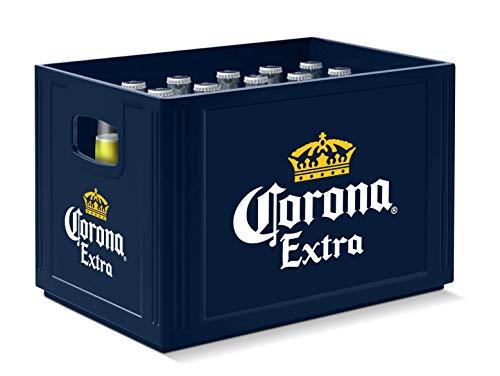 Corona Extra Premium Lager Flaschenbier, MEHRWEG (24 x 0.355 l) im Kasten, Internationales Lager Bier