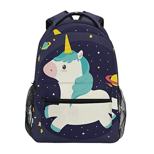 Cute Unicorn Backpack BookBag for Boys Girls Elementary School 2021820
