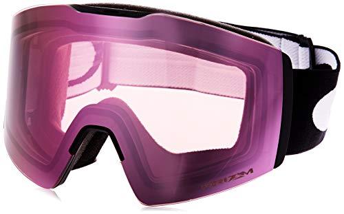 Oakley Fall Line Xl lunettes de soleil, Noir/Rose (Noir Mat/Rose Neige Prizm), Mixte