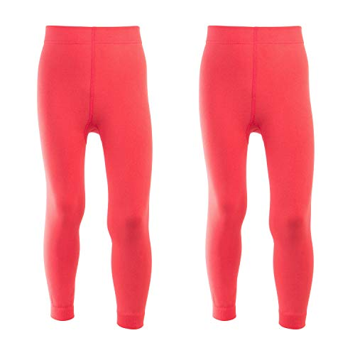 Celodoro Kinder Thermo Leggings - Doppelpack Lachs 122-128