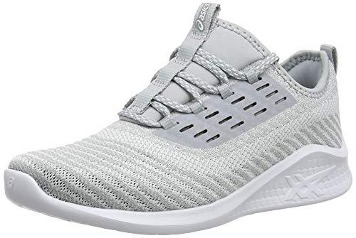 Asics Fuzetora Twist, Zapatillas de Running para Mujer, Gris (Mid Grey/White 020),...