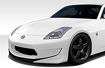 Extreme Dimensions Duraflex Replacement for 2003-2008 Nissan 350Z Z33 AM-S GT Front Bumper Cover - 1 Piece