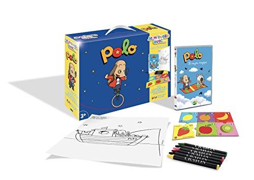 Polo-Je m'éveille avec. (DVD+Puzzle+6 Crayons Pastels + Poster)