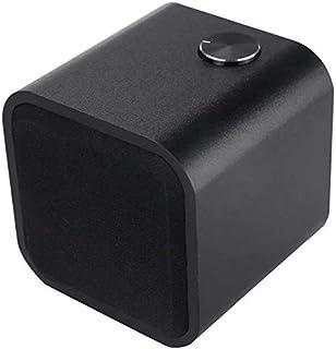 KJRJLY Bluetooth Audio Hifi Wooden Wireless Bluetooth Speaker Card Amplifier Bluetooth Audio Home Style Wooden Hifi Audio Speaker (Color : Black)
