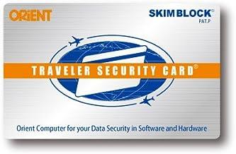 オリエントコンピュータ 海外旅行にクレジットカードを安全に携帯トラベラーセキュリティカード2枚入り 日本製