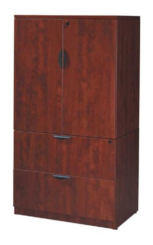 2 Drawer Lateral File with Storage