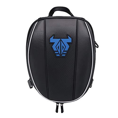 Motorrad-Hecktasche - Wasserdichte Gepäcktasche Sitztasche Motorrad-Satteltaschen Multifunktionale Fahrradtasche Sportrucksack-Blau