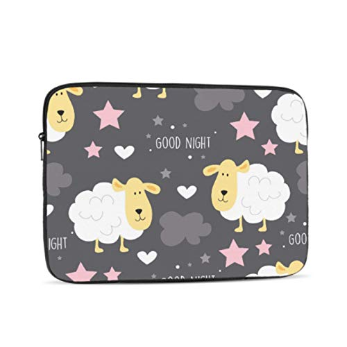 Macbook Pro A1989 Case Cute Child Favorite Animal Sheep Macbook Computer Case Multi-Color & Size Choices10/12/13/15/17 Inch Computer Tablet Briefcase Carrying Bag