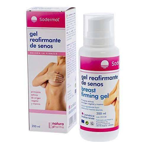 Reafirmante de senos para mujer natural de origen marino crema para el aumento de elasticidad y firmeza del pecho/Previene el pecho caido y las aparición de estrias