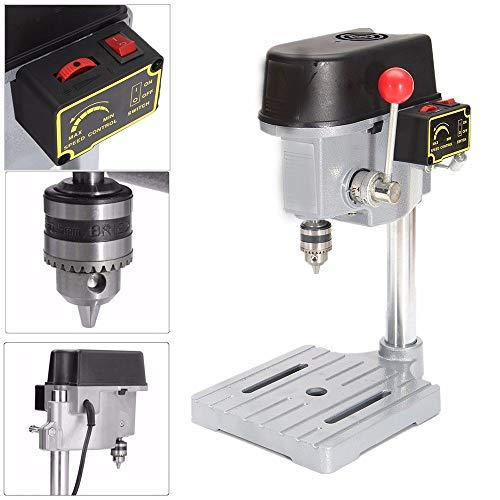 LWQ Drill Press Mini Bohrmaschine, 240W für Bench Maschinentisch Bit Bohrfutter 0.6-6.5Mm Holz Metall Elektrowerkzeuge