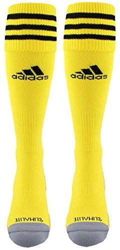 Adidas Copa Cushion III Over The Calf Soccer Socks (Crew Yellow/Black, Medium)