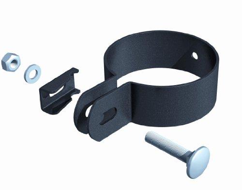 GAH-Alberts 563554 Endschelle, anthrazit-metallic, für Pfosten-Ø: 60 mm