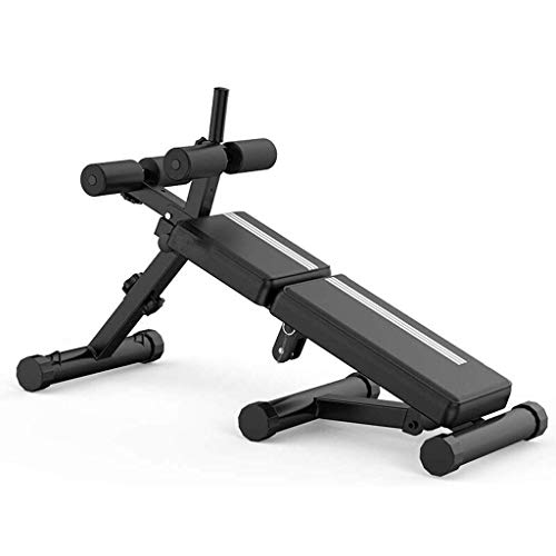 CCTV Adjustable Weight Bench - Utility Weight Benches for Full Body Workout, Foldable Flat/Incline/Decline,Multifunctional Supine Board Sit-ups Chest Muscle Abs Fitness Chair Equipment
