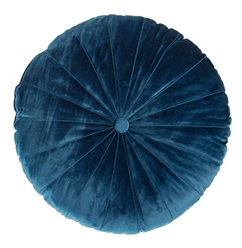 Kaat Kussen | Mandarijn Blue - 40 x 40 cm