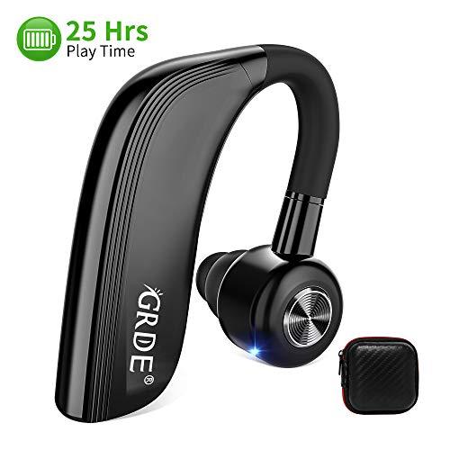 Oreillette Bluetooth, Casque sans Fil Bluetooth Sport avec Microphone 700H en Veille Casque en Voiture Main Libre avec Anti-Bruit Mono Ecouteur Bluetooth pour iPhone Samsung, HTC, LG, Sony, PC, iPad