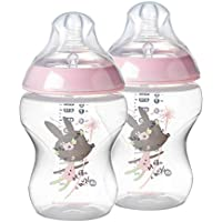 2-Count Tommee Tippee Closer to Nature Baby Bottle 9 Ounce
