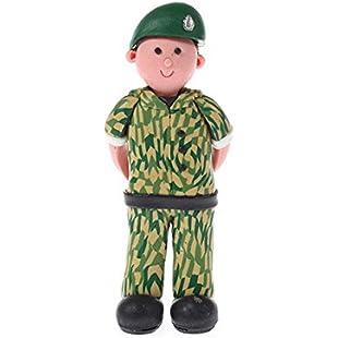 Soldier Claydough Cake Topper