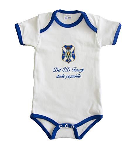 Tenerife Bodtnf Body, Unisex bebé, Blanco, 3