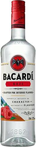 Bacardi Razz Spirituose mit Rum und Himbeergeschmack (1 x 0.7 l)