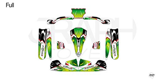 Kit Deco Karting OTK M4 Nurburgring Verde